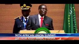 Mugabe Speech on Obama & United Nations A True  Leader 1/ 30/2016